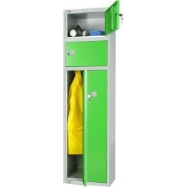 Space Saver Two Person Steel Locker