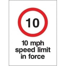 Speed Limit in Force Signs