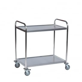 Stainless Steel Tray Trolleys Cap: 100kg