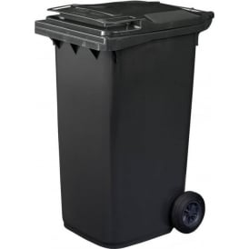 Standard Household Grey Wheelie Bin Cap: 240lt
