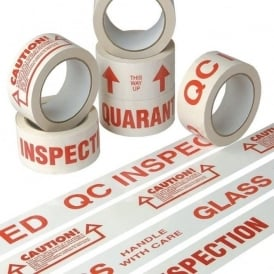Standard Text Pre-Printed Sealing Tapes