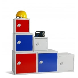 Steel Cube Lockers