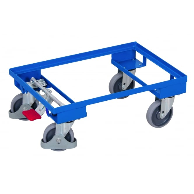 Steel Euro Dolly with EASYstop Brake