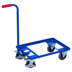 Steel Euro Dolly with Standard Brake and Handle