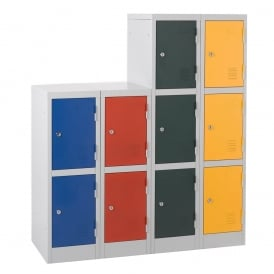 Steel Lower Height Lockers for Schools