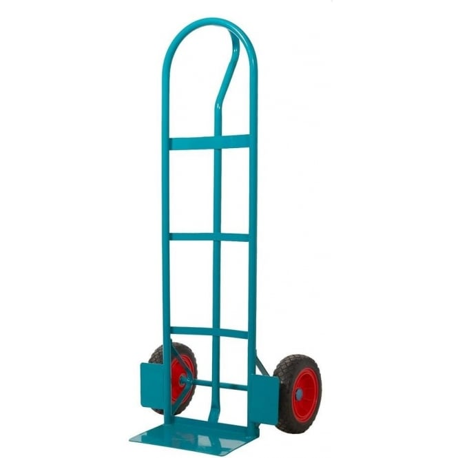 Steel P Handle Sack Truck with REACH compliant wheels Cap: 250kg