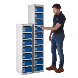 Steel Post Box Lockers - 140 Series
