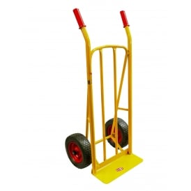 Steel Sack Truck with Pneumatic or Puncture Proof tyres Cap: 250kg