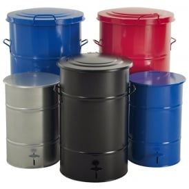 Steel Workshop Waste Bins Cap: 30lt, 70lt & 115lt