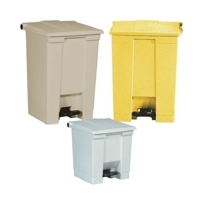 Step-on Container Waste Bins Cap: 30lt, 45lt, 68lt & 87lt