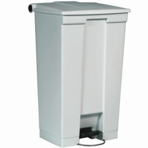 Step-on Container Waste Bins Cap: 45.5lt White