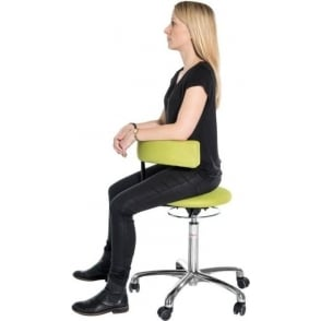 Stool with 360 degree Swivel Backrest