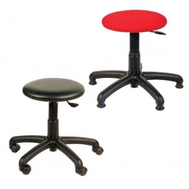 Stools with glides or castors - Vinyl or Fabric