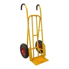 Super Heavy Duty High Back Steel Sack Truck Cap: 500Kg