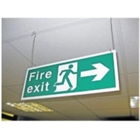 Suspended Ceiling Signs - Fixtures & Fittings