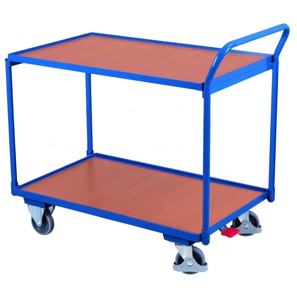 Beau Table Top Trolley With Two Shelves