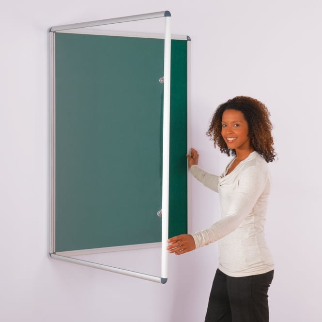 Tamperproof Notice Boards with lockable doors