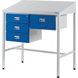 Team Leader Work Stations with Triple & Single Drawer