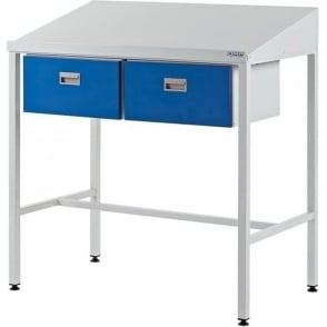 Team Leader Workstations with Two Single Drawers