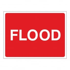 Temporary Flood Sign