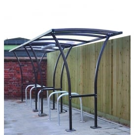 Tintagel Bike Shelters - Centred