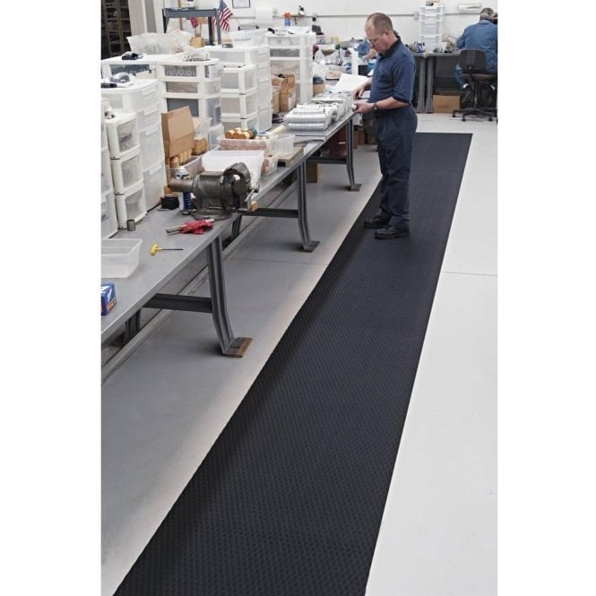 Traction Tread Anti-Slip/Anti Fatigue Matting