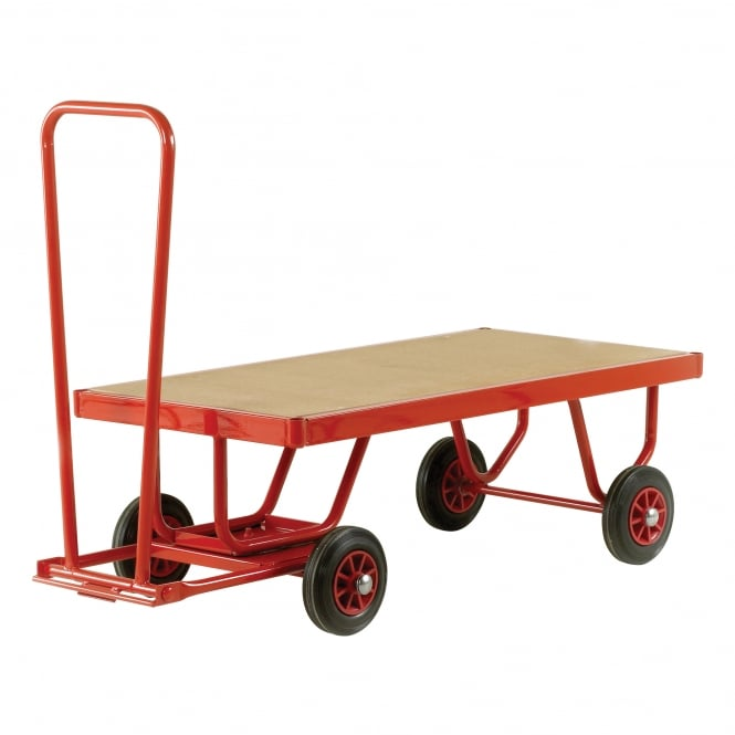 Trader Hand Turntable Trucks with MDF platform Cap: 350kg, 500kg, 750kg & 1000kg