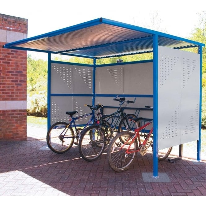 Traditional Bike Shelters
