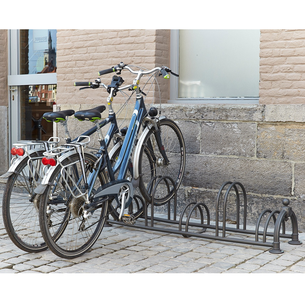 Traditional High Low Bike Racks Parrs Workplace Equipment Experts