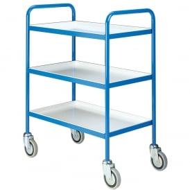 Tray Trolleys with removable shelves Cap: 200kg