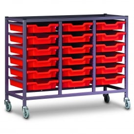 Triple Tray Trolleys
