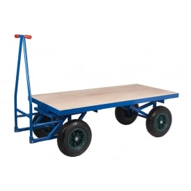 Turntable Truck with REACH compliant wheels Cap: 500kg & 1000kg