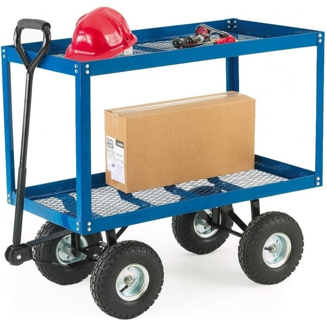 Twin Tray Turntable Truck Cap: 150kg