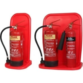 Two Part Fire Extinguisher Stands