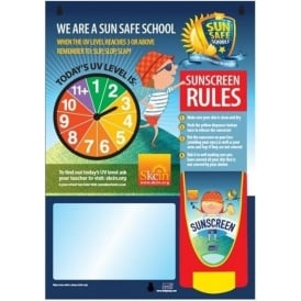 UV SunProtect Dispenser Board for Schools