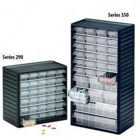 Visible Storage Multi Drawer Cabinets