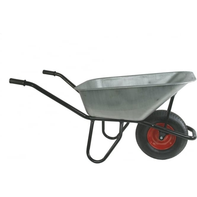Wheelbarrow with galvanised pan Cap:150kg