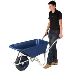 Wheelbarrows with plastic or galvanised pan Cap:140lt