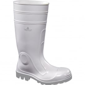 White Safety Wellingtons for Food Industry S4 SRC