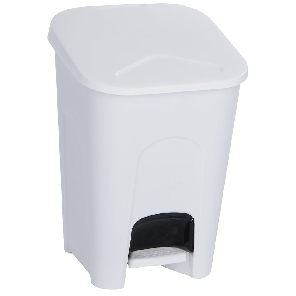 small plastic pedal bin parrs workplace equipment experts. Black Bedroom Furniture Sets. Home Design Ideas
