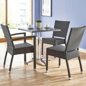 Wicker Cafe Tables & Chairs