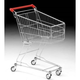 Wire Shopping Trolley Cap: 60lt