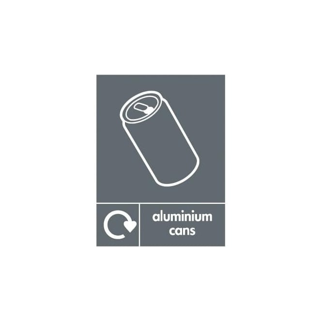 Wrap Recycling Labels & Signs: Aluminium Cans