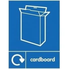 Wrap Recycling Labels & Signs: Cardboard
