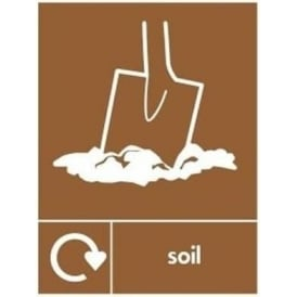 Wrap Recycling Labels & Signs: Soil