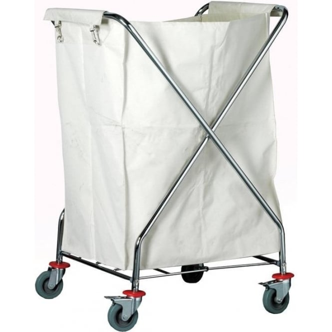 X Frame Laundry Trolley