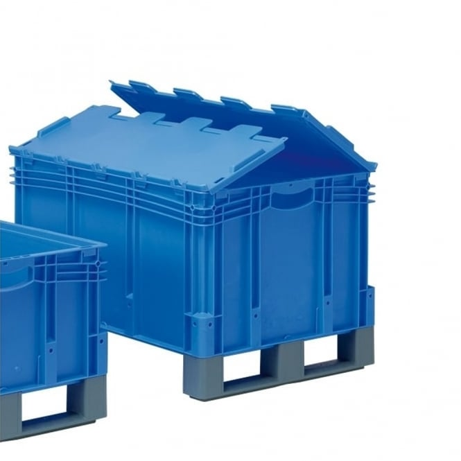 XL Euro Containers with and attached lid (ALC) & fork entry shoes