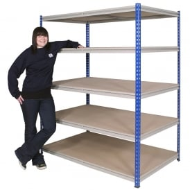 Z Beam Rivet Shelving